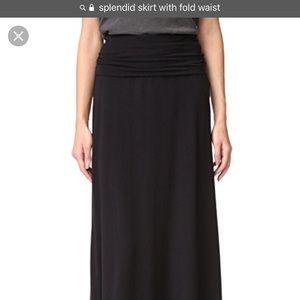 Splendid Black Maxi Dress/Skirt